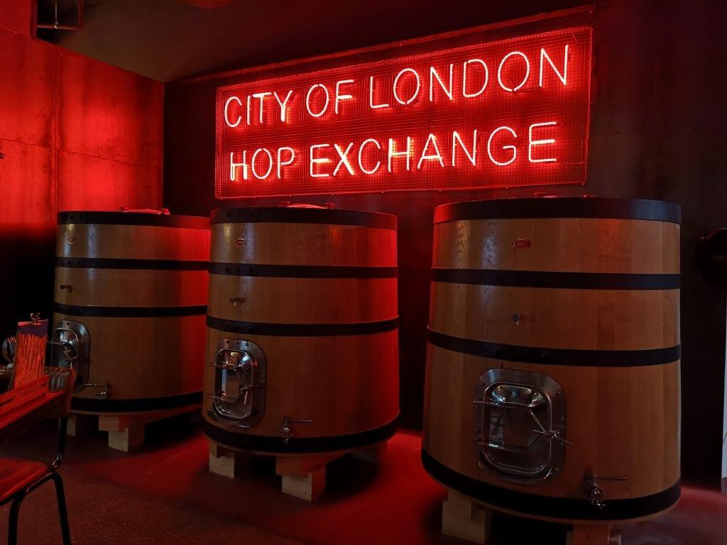 Ales at BrewDog, Tower Hill